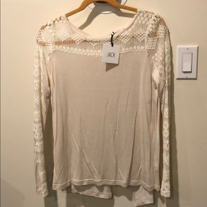 Jack lace top size smal